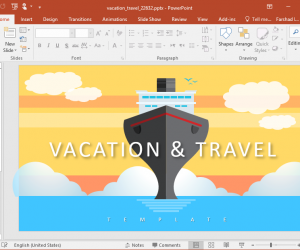 Animated Vacation & Travel Presentation Template