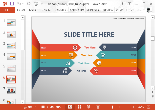 Animated Infographic Comparison Powerpoint Template