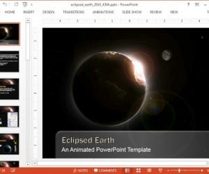 Eclipse Video Backgrounds For PowerPoint