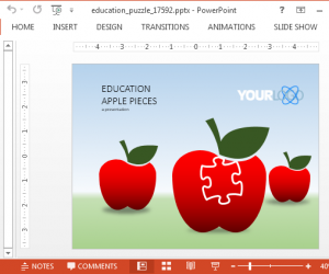 Animated Education PowerPoint Template