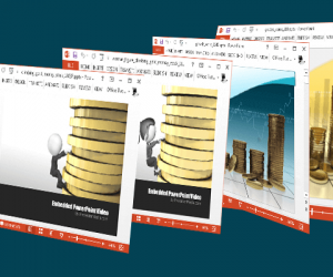 Animated Gold Coins PowerPoint Templates