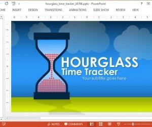 Animated Hourglass Template For PowerPoint