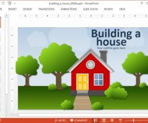 Animated House PowerPoint Templates