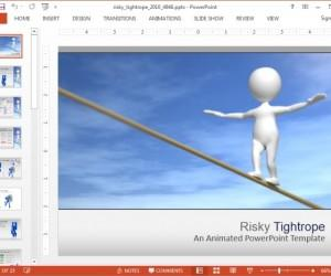 Risk Assessment Template For PowerPoint