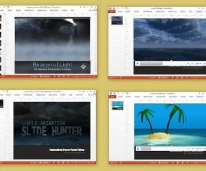 Animated Sea And Ocean PowerPoint Templates