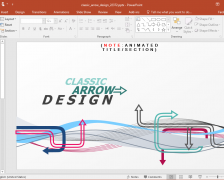 Arrow Design PowerPoint Template