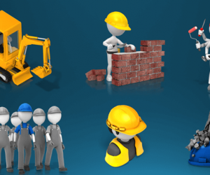 Awesome Construction Clipart For PowerPoint Presentations