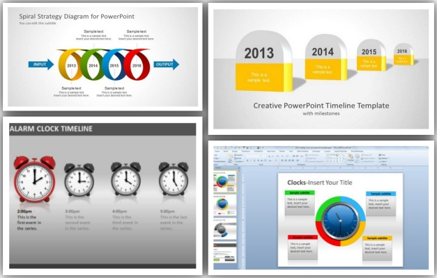 Best PowerPoint Timeline Templates