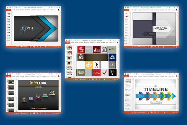 Best modern design PowerPoint templates
