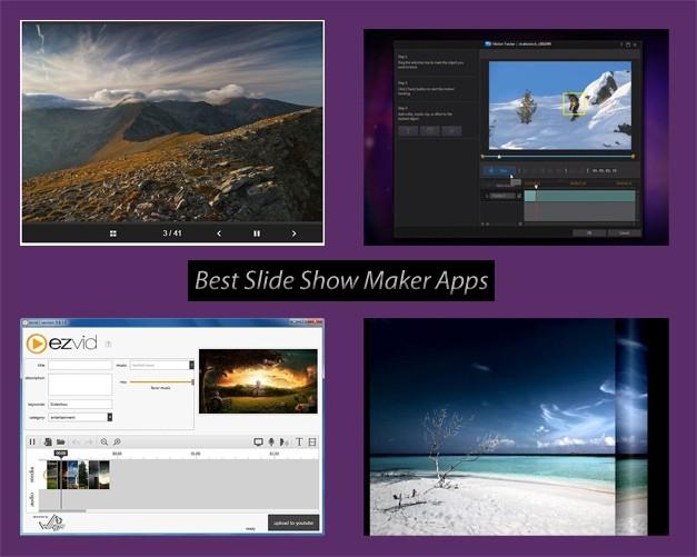 Best slide show maker applications