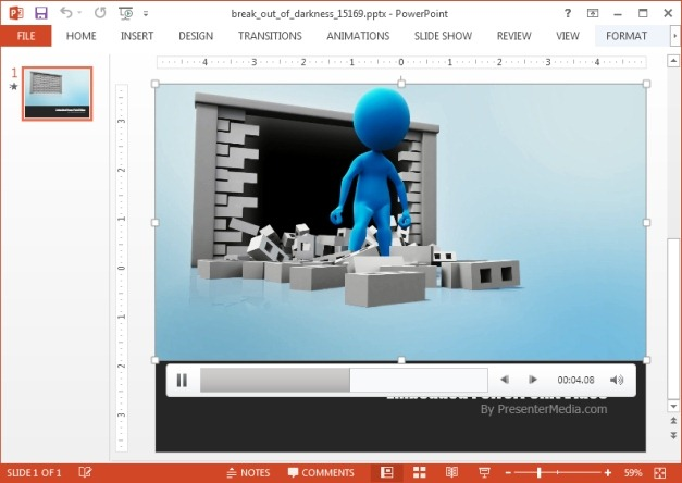 Breaking out video animation