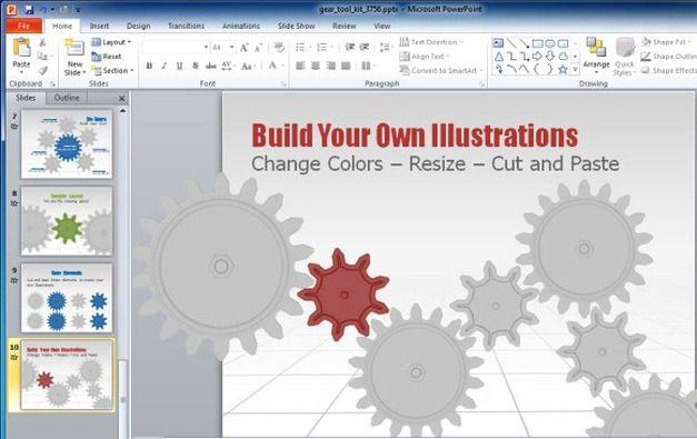 Build Animated Gear Illustrations