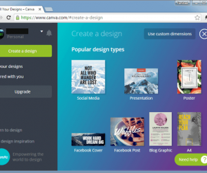 Canva: Design Awesome Presentations, Documents & Social Media Graphics