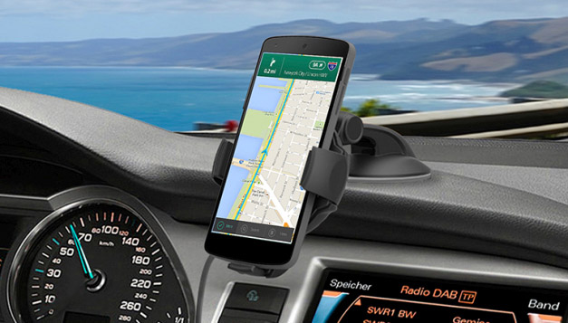 Car desk mount for Nexus 6