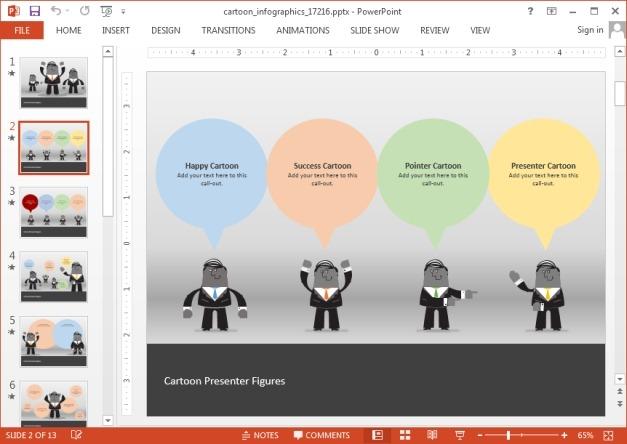 Cartoon PowerPoint template