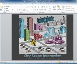 Interactive City PowerPoint Template