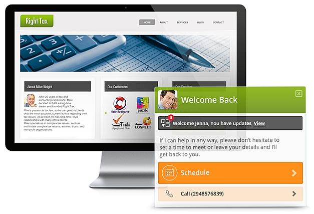 Client engagement platform vCita