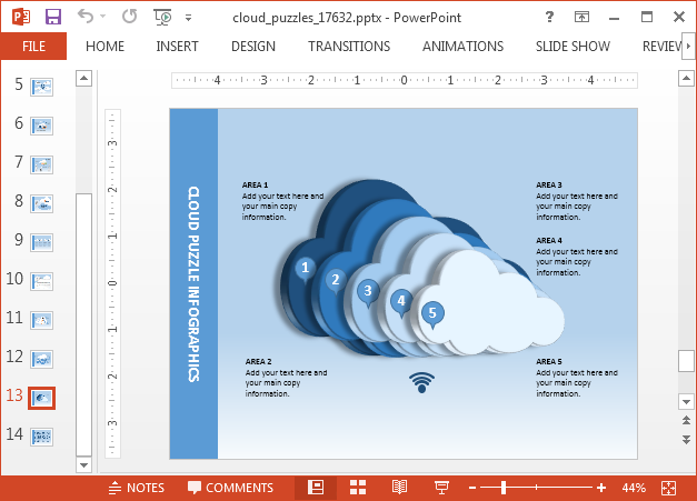 Cloud computing slide design