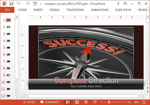 Compass video animation