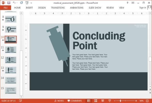 Concluding slide