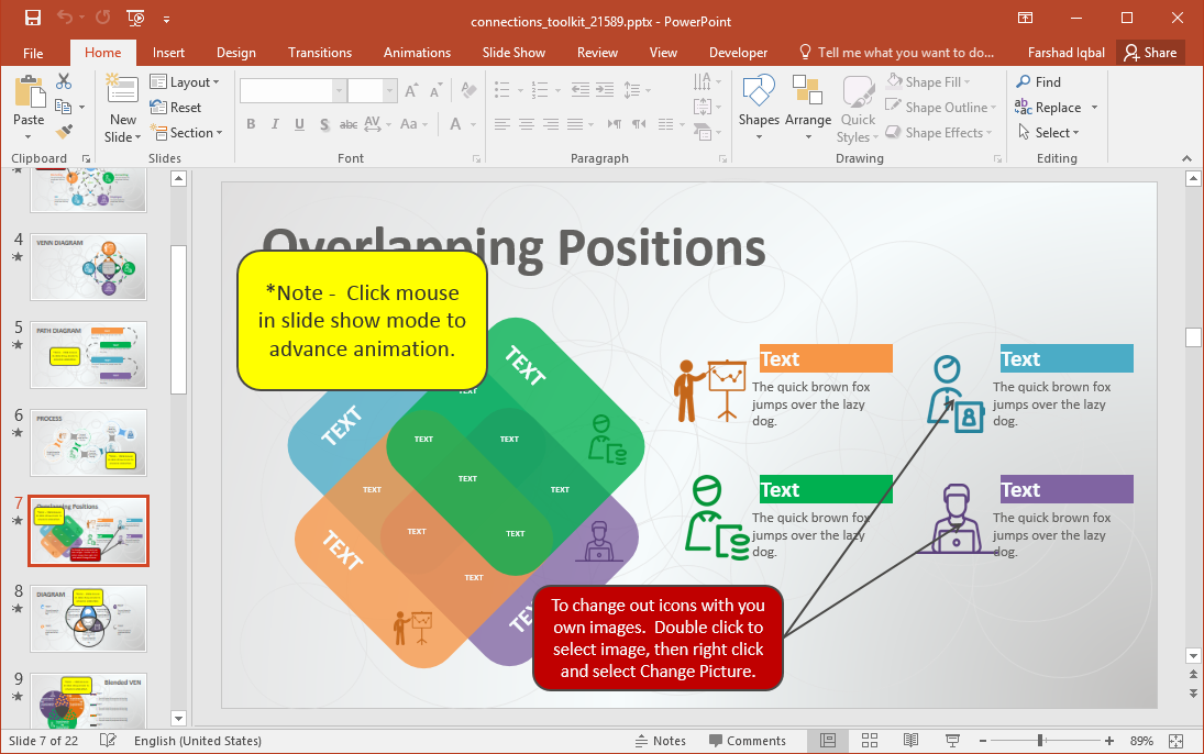 Connections Toolkit for PowerPoint