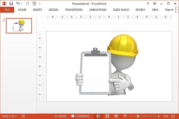 Construction hardhat clipart