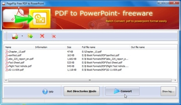 Convert PDF Files To PPT