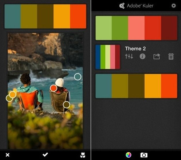 Create Color Themes From Photos