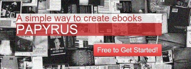Create Ebooks - Papyrus Editor