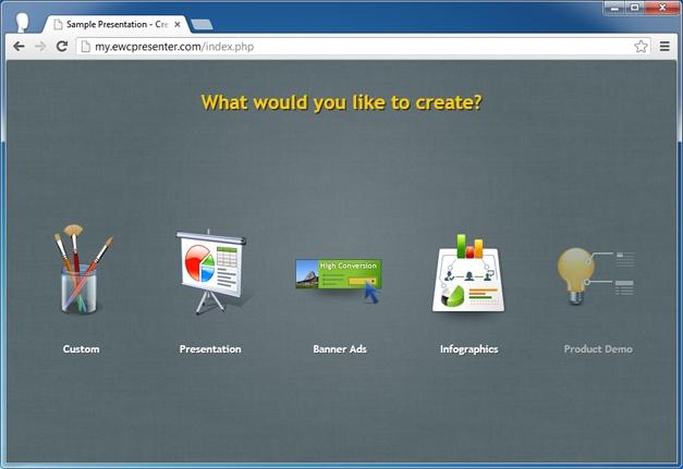 Create product demos