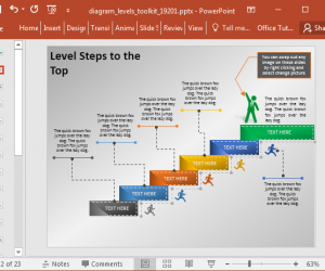 Animated Stage Diagram Template For PowerPoint