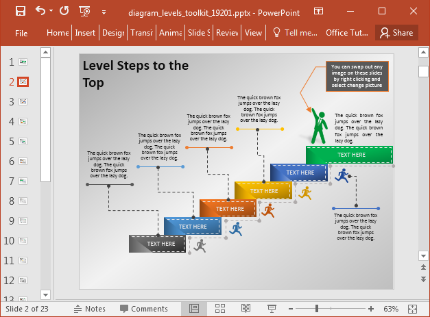 Create stage diagrams