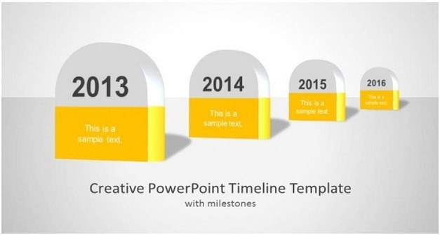 Creative TpowerPoint Timeline Template