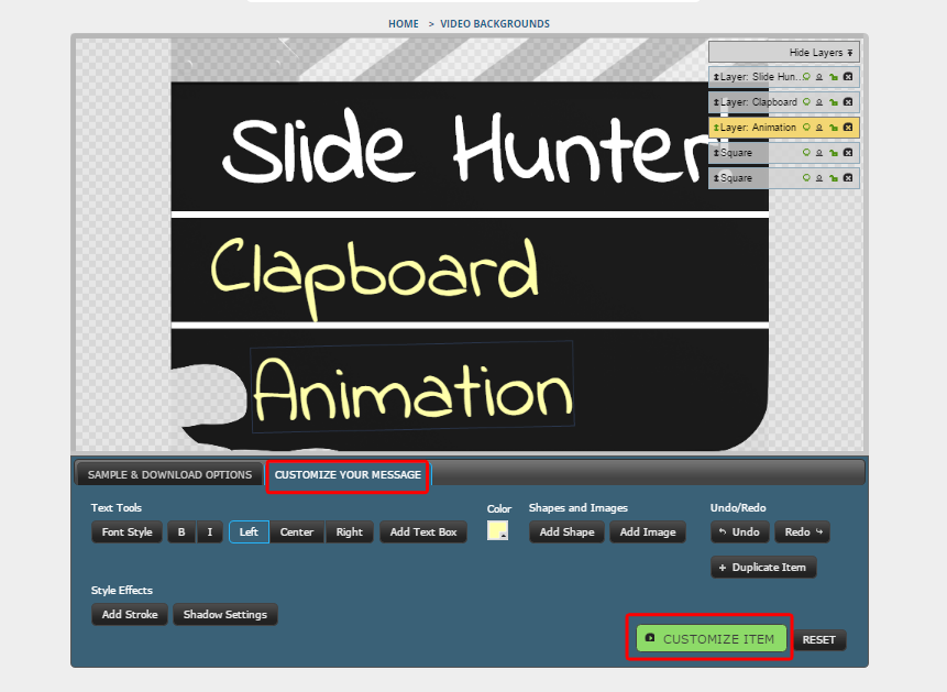 customize-clapperboard-animation