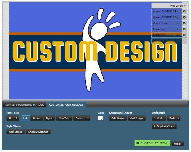 Customize rocket animation