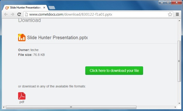 how to convert torrented files to direct download