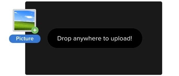 Drag And Drop To Upload
