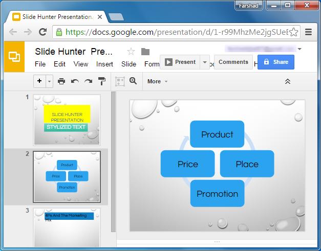 Edit PowerPoint in Google Slides