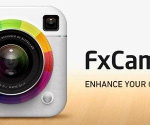 Take Pictures With Voice On iPhone With FxCamera