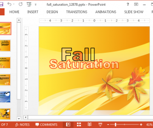 Animated Halloween PowerPoint Template With Fall Animations