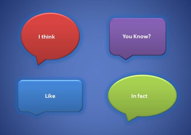 Filler Words in Presentations