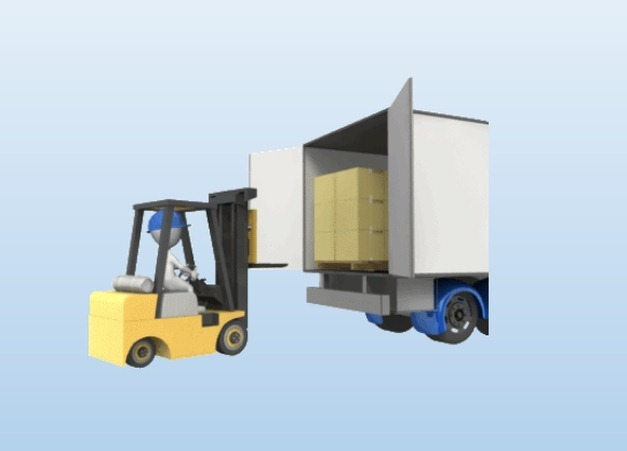 Forklift animation