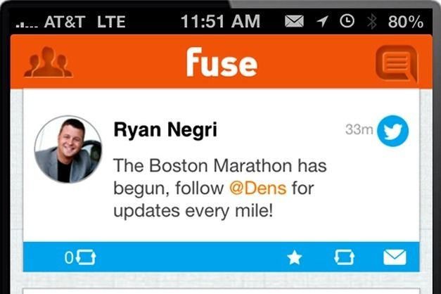 Fuse Social App For iPhone