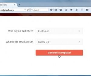 Generate Help Text For Official Emails With Contactually Email Templates