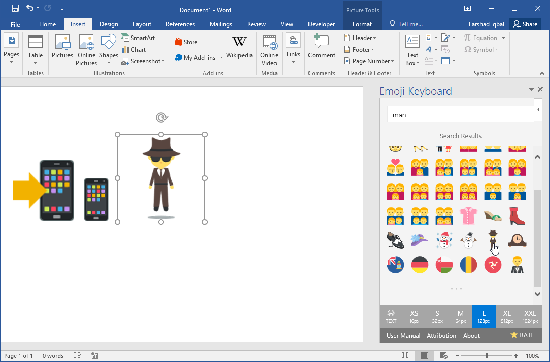 Get the Emojis Pack for PowerPoint, Word & OneNote