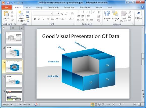 Good Visual Presentation Of Data