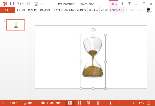 Hourglass GIF