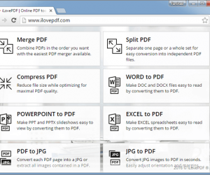 Split, Merge, Convert & Unlock PDF Files For Free With ILovePDF