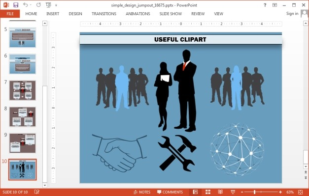 Infographics clipart