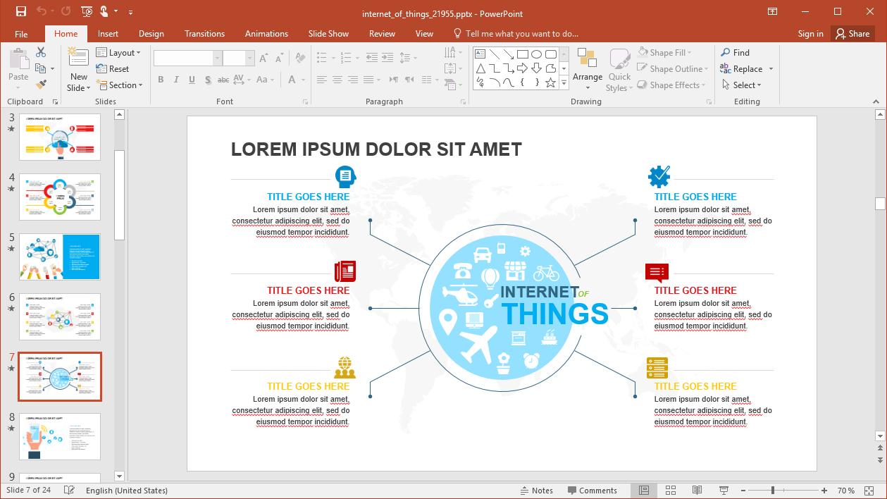 Internet Slide Design
